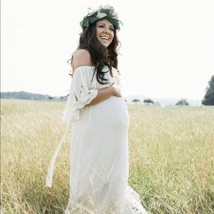 b9bde2a41c2 Fillyboo Dresses - FillyBoo Wonder Years Maternity Gown
